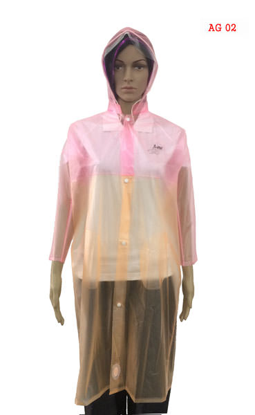 Girls Raincoats - Natural Khadi