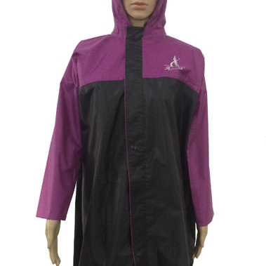 Girls Raincoat -  Poly Rubberised