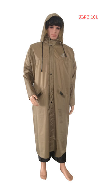 Gents Long Coat - Poly Rubberised