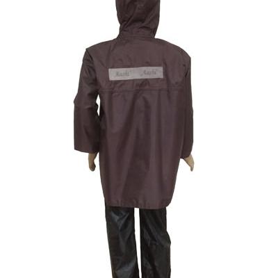 Boys Raincoat - Micro Rubberised