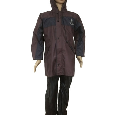Boys Raincoat - Micro Rubberised