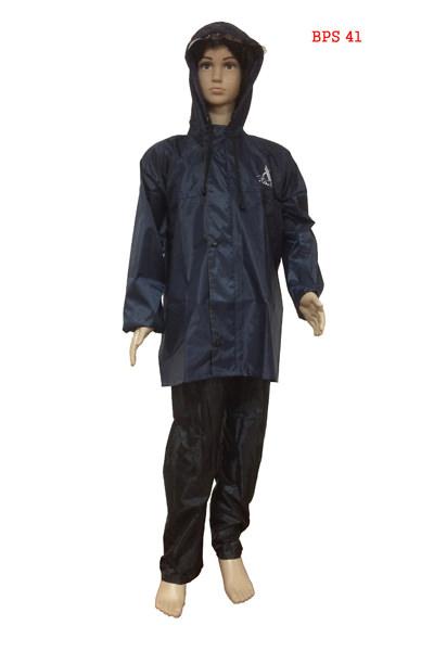 Boys Raincoat - Poly Rubberised